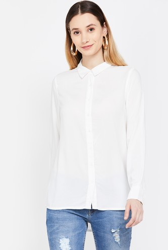 CODE Solid Casual Shirt