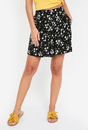 GINGER Floral Print Shorts