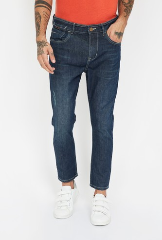 FORCA Stonewashed Carrot Fit Jeans