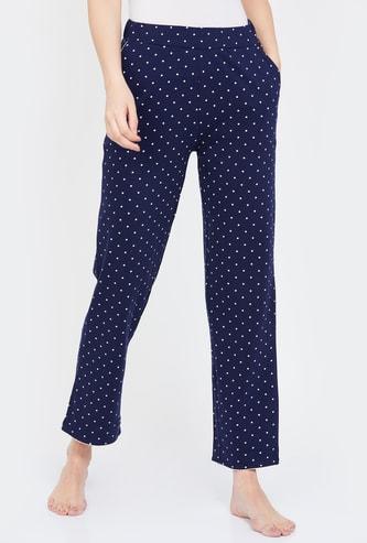 GINGER Printed Elasticated Pyjamas