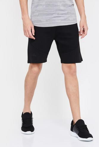 KAPPA Men Solid Regular Fit Sports Shorts
