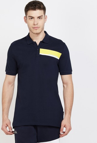 KAPPA Printed Regular Fit Polo T-shirt
