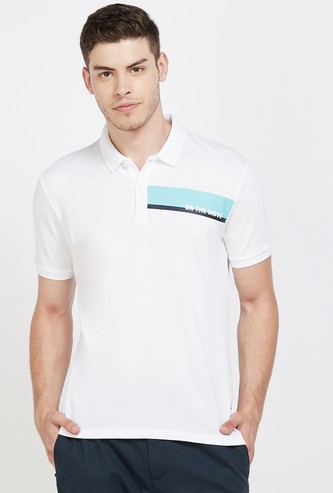 KAPPA Solid Regular Fit Polo T-shirt