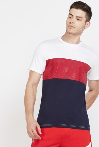 KAPPA Colourblock Short Sleeves Regular Fit T-shirt