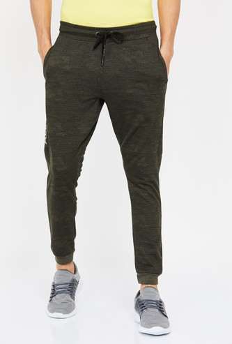 KAPPA Typographic Print Elasticated Joggers