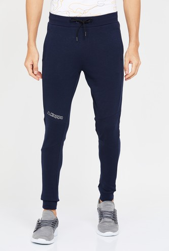 KAPPA Solid Elasticated Slim Fit Joggers