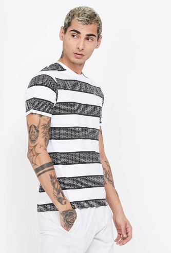 KAPPA Striped Regular Fit T-shirt