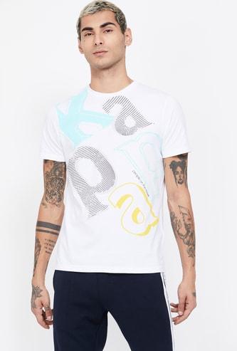 KAPPA Typographic Print Regular Fit T-shirt