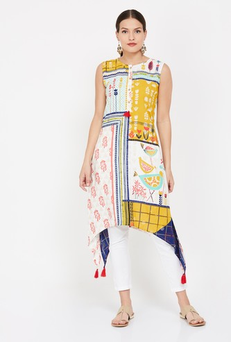 COLOUR ME Women Printed A-line Kurta