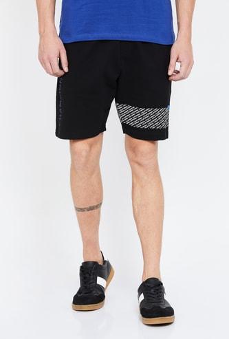 UCLA Printed Regular Fit Shorts