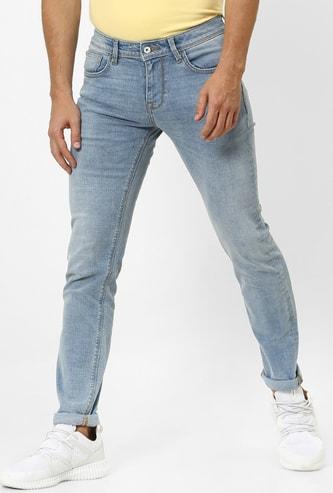 CELIO Stonewashed Skinny Fit Jeans