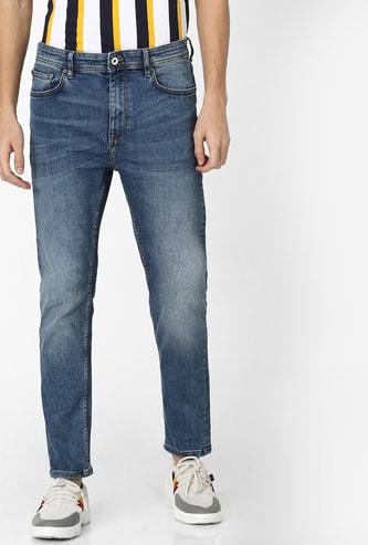 CELIO Stonewashed Super Skinny Fit Jeans