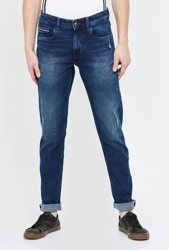 U.S. POLO ASSN. Brandon Dark Washed Slim Tapered Jeans
