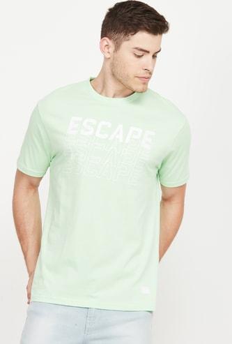 BOSSINI Typographic Print Short Sleeves Regular Fit T-shirt