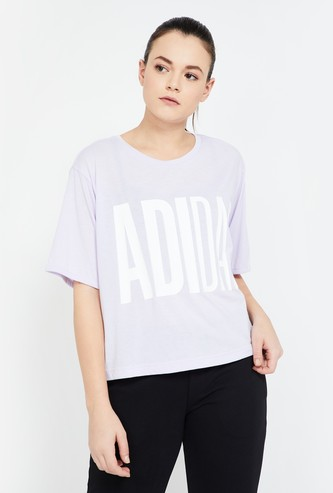 ADIDAS Printed Relaxed Fit Training Top
