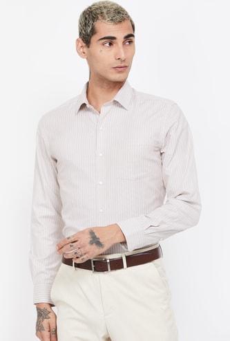 ARROW Striped  Full Sleeves Regular Fit Shirt