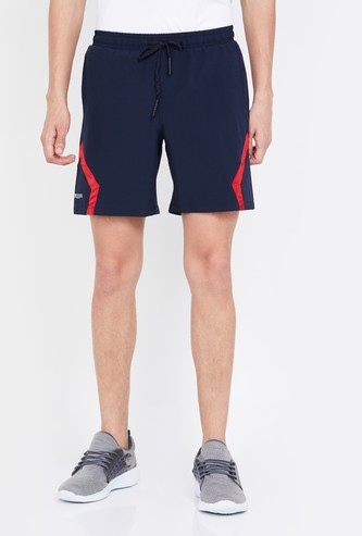 KAPPA Printed Regular Fit Elasticated Hydroway Shorts