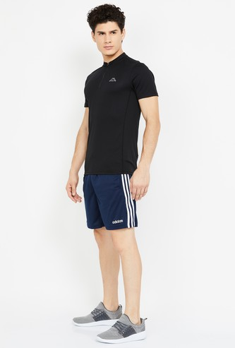 KAPPA Solid Regular Fit Hydroway Polo T-shirt