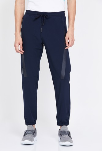 KAPPA Solid Elasticated Slim Fit Hydroway Joggers
