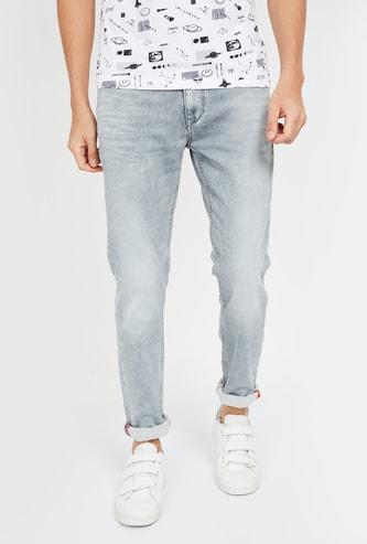 KILLER Stonewashed Skinny Fit Jeans