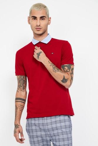 ARROW SPORT Solid Regular Fit Polo T-shirt