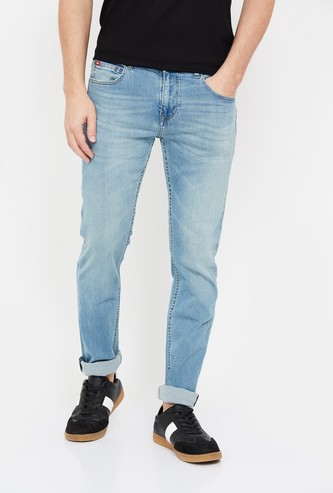 LEE COOPER Men Stonewashed Skinny Fit Jeans