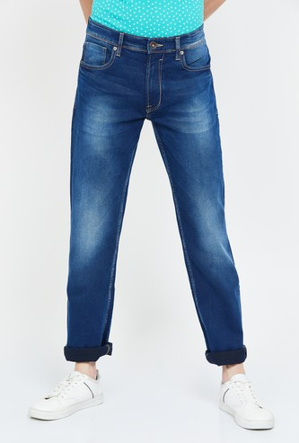 PEPE JEANS Holborne Stonewashed Regular Tapered Jeans