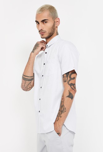 ALLEN SOLLY Checked Slim Fit Casual Shirt
