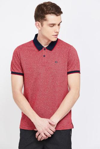 ARROW SPORT Textured Regular Fit Polo T-Shirt