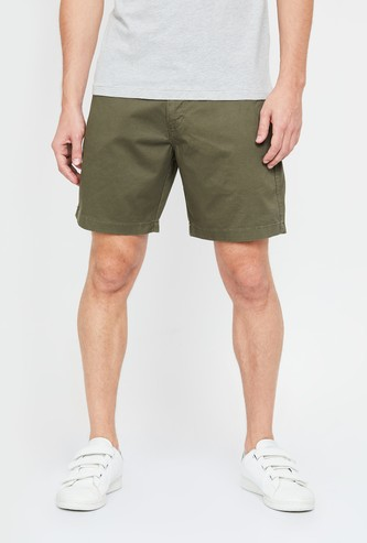AEROPOSTALE Men Solid Regular Fit Casual Shorts