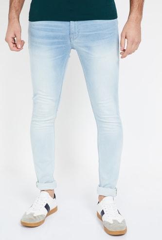 JACK & JONES Stonewashed Skinny Fit Jeans