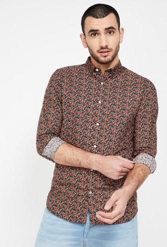 JACK & JONES Printed Slim Fit Casual Shirt
