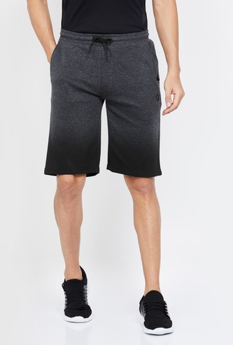 PROLINE Ombre Printed Regular Fit Shorts