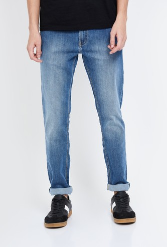 UNITED COLORS OF BENETTON Stonewashed Skinny Fit Jeans