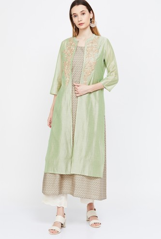MELANGE Embroidered Two-Piece Kurta
