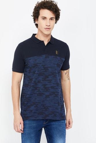 PROLINE Printed Regular Fit Polo T-shirt