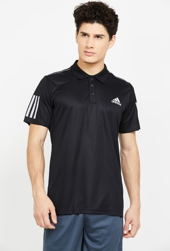 ADIDAS Printed Regular Fit Polo T-shirt