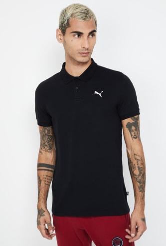 PUMA Pique Regular Fit Polo T-shirt