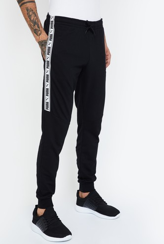 PUMA Panelled Regular Fit Joggers