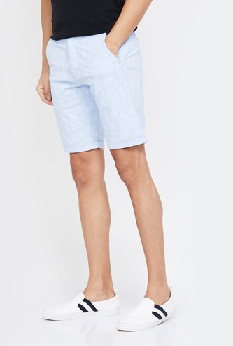 LOUIS PHILIPPE SPORT Printed Slim Fit Casual Shorts