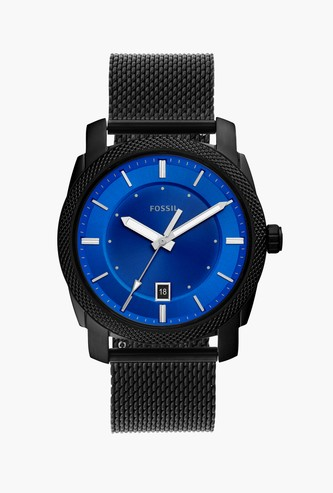 FOSSIL Men Analog Watch with Mesh Strap - FS5694