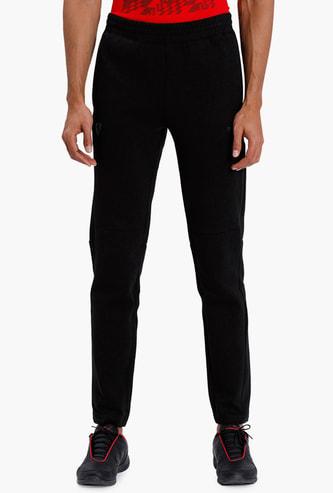 PUMA Solid Regular Fit Track Pants