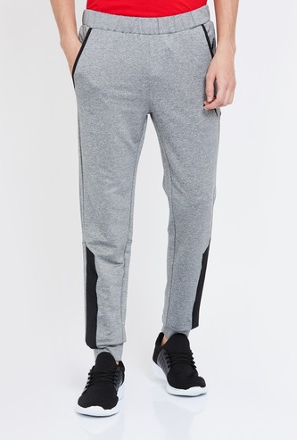 PUMA Solid Elasticated Regular Fit Joggers