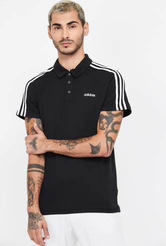 ADIDAS Solid Short Sleeves Regular Fit Polo T-shirt