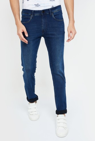 PEPE JEANS Vapour Dark Washed Slim Fit Jeans