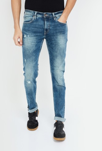 PEPE JEANS Stonewashed Skinny Fit Jeans