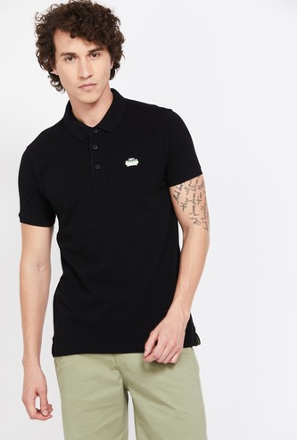 SPYKAR Solid Regular Fit Polo T-shirt