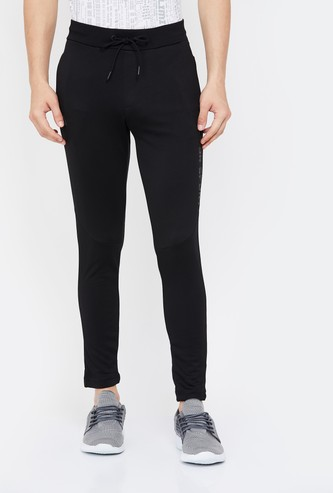 KAPPA Men Solid Slim Fit Track Pants