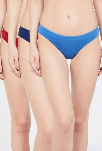 TRIUMPH Solid Bikini Panties - Pack of 3