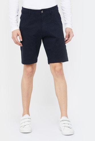 FAME FOREVER Men Printed Regular Fit Shorts